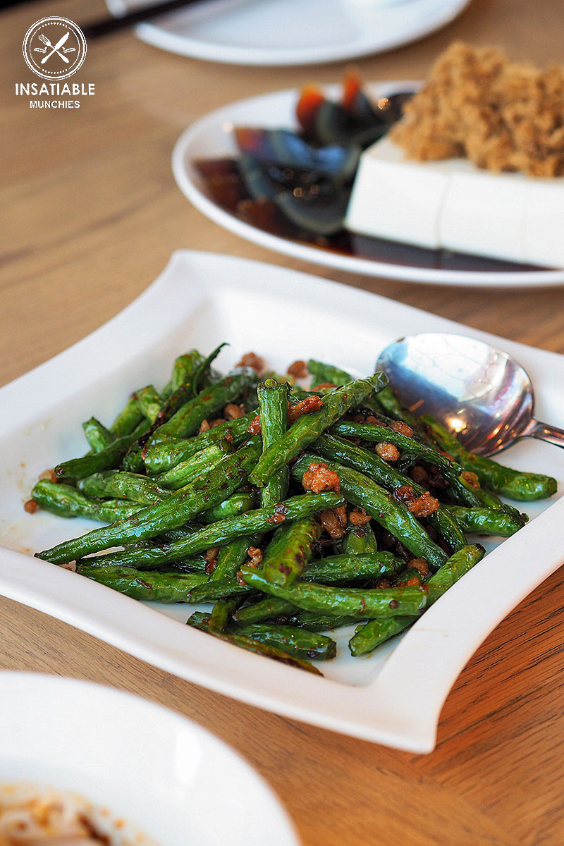Sydney Food Blog Review of Din Tai Fung, Central Park: Green Bean with Minced Pork
