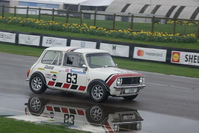 Leyland Mini 1275 GT 1980, 75th Members' Meeting, Goodwood Motor Circuit