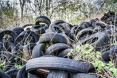 Tyre Mountain
