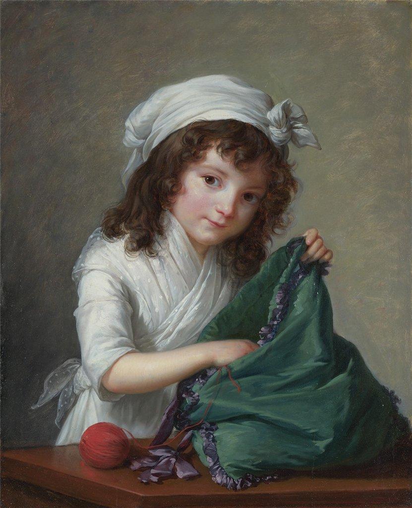 Mademoiselle Brongniart by Élisabeth Vigée-Lebrun, 1788