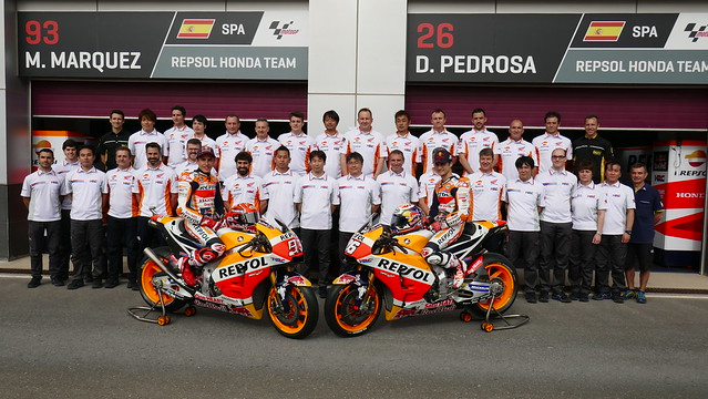 Honda Team photo