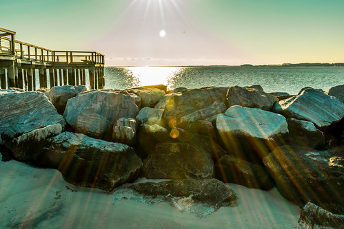 water beach sun lensflare nature landscape millsboro delaware ocean sea march d3400 nikon gdjewellii sky natura bright light art america usa morning photo davejewell georgejewell 1855mm kitlens thepeninsula color groupe charlie l1