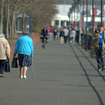 People at Preston Docks - 2