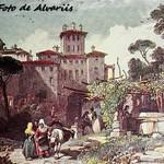 1830 Ariccia, veduta di T. J. Eavons 1830 ca