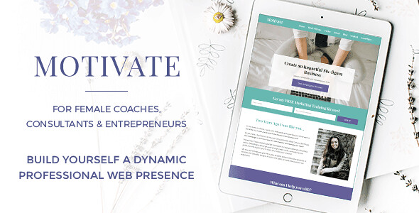 Motivate WordPress Theme free download