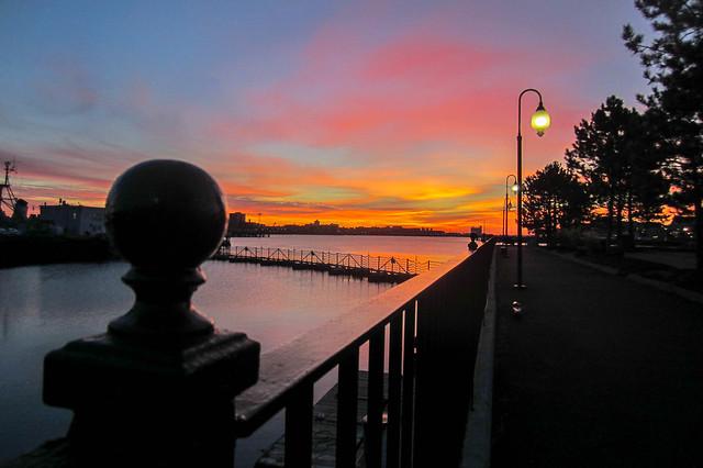 Charlestown Sunrise, Canon POWERSHOT ELPH 300 HS