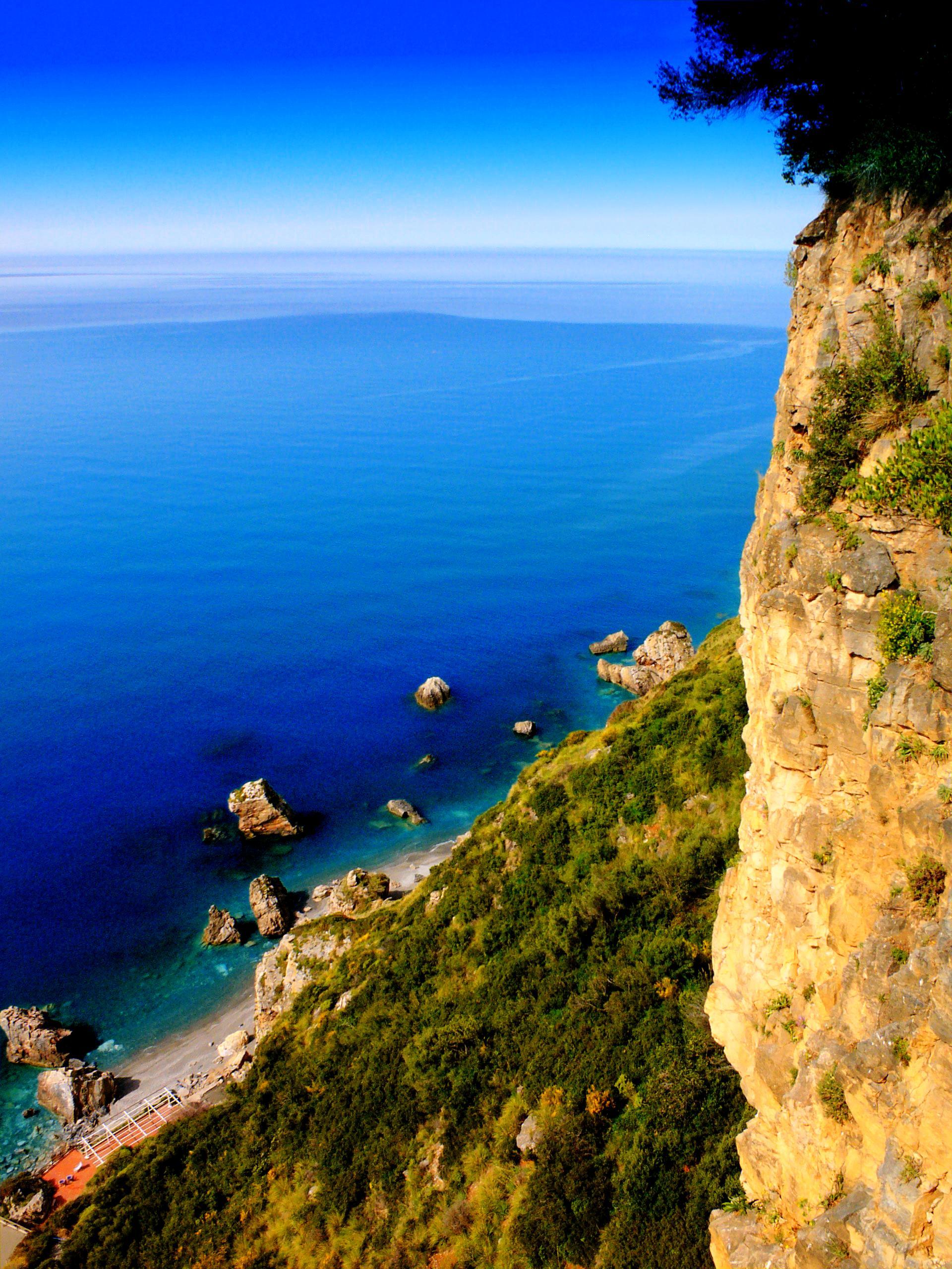 Elevation Of Guardia Piemontese Province Of Cosenza Italy