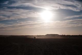 Distancias en el desierto