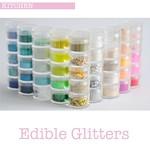 Edible glitters