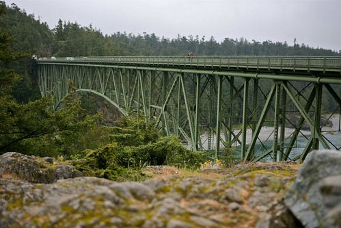 Walking Over Deception Pass by Seattle Daily Photo