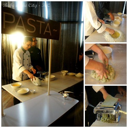 Pasta demo collage