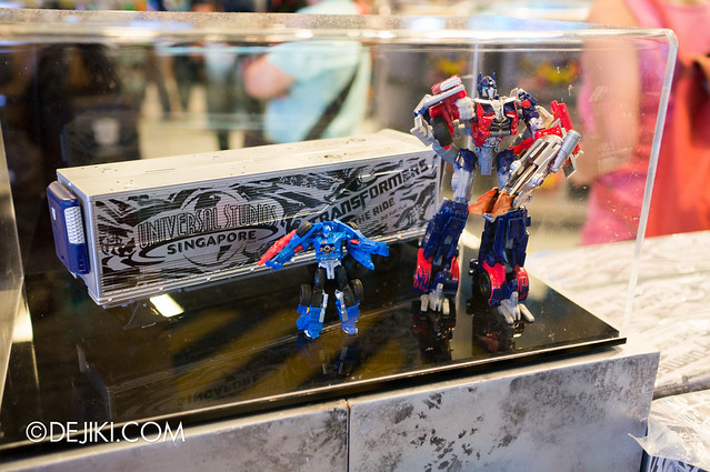 USS May Park Update - Transformers Optimus Prime Limited Edition Trailer