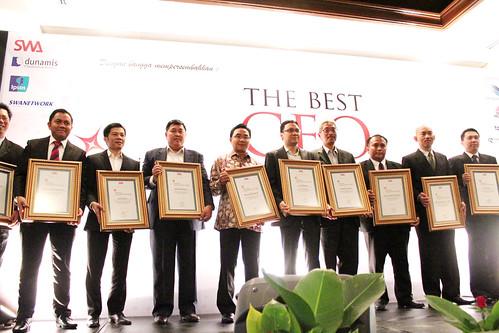 The Indonesia Future Business Leader 2013: Foto para pemenang.