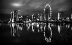 Marina Bay Sands and Singapore Flyer