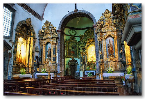 Interior da Igreja dos Terceiros de S. Francisco by VRfoto