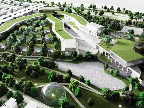 Dubai Sustainable City – экологичный город будет запитываться от огромной солнечной фермы