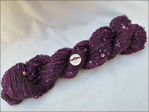 Purple Fortune handspun