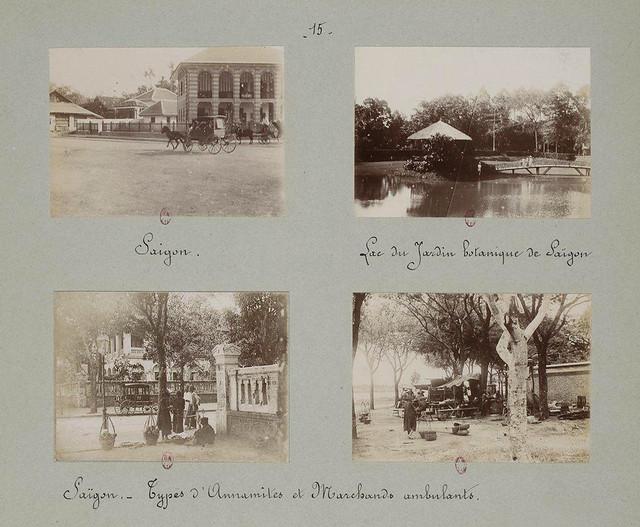 SAIGON 1895 (3) - Những trang album xưa