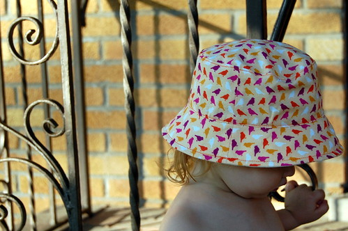 Adelaide's summer hat