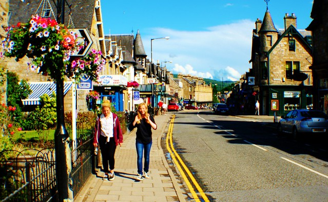 Atholl Road, Pitlochry, Scotland