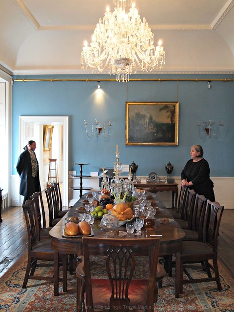 Formal Dining Room in The Bishops Palace, Waterford