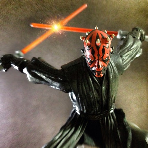 Darth Maul - hasbro - black series