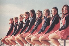 Mesa Community College Cheerleaders in 1971