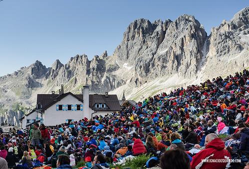 Dolomites - Val di Fassa - Vinicio Capossela at Vajolet 16