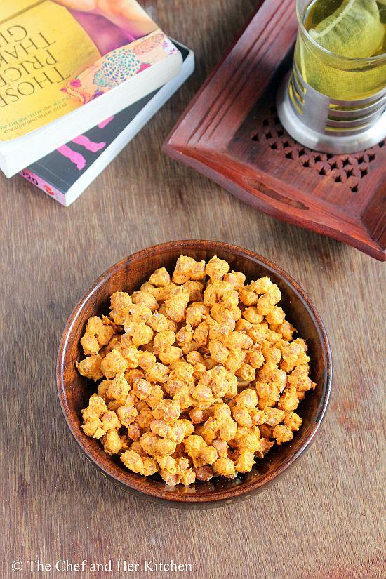 microwave masala peanuts