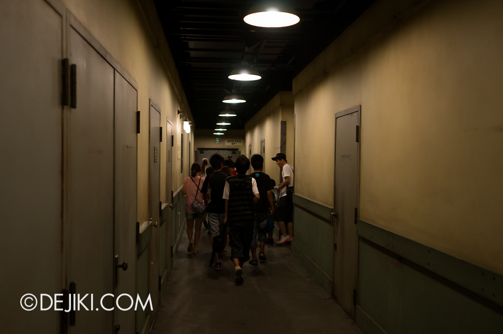 Tokyo DisneySea - Tower of Terror / tour exit 2