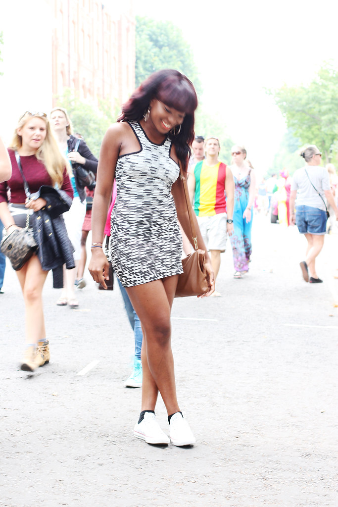 nottinghill carnival, zara dress,