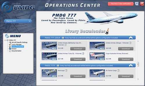 PMDG Operations Centre