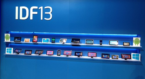 Android and Windows Tablets at IDF13