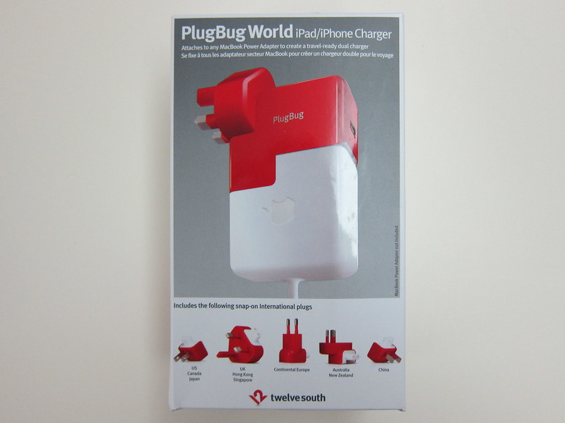 Twelve South PlugBug World - Box Front
