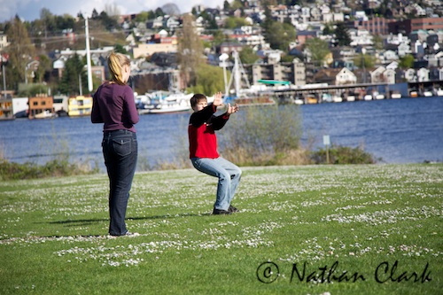 A Day at Gasworks Park 1