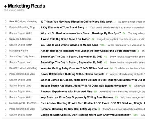 + Marketing Reads