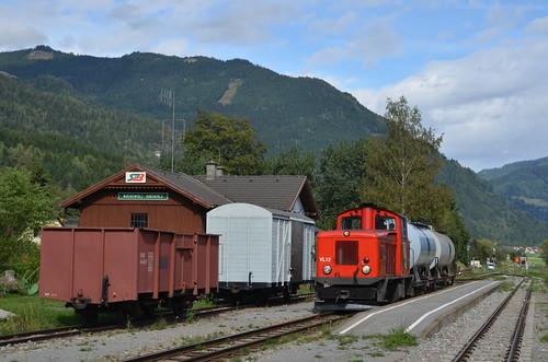18.09.2013 (XII); Oostenrijk, dag 19, cargo op de Murtalbahn