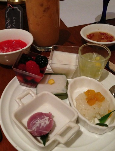 Thai Desserts from Journey into Thailand's buffet spread