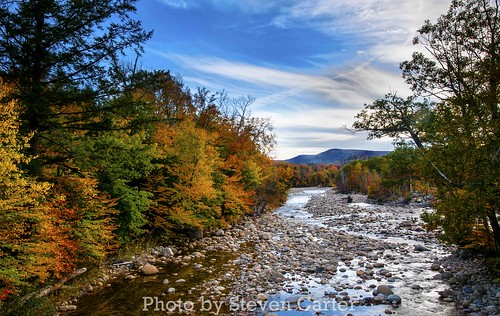 Fall in Lincoln, New Hampshire by satdishguy