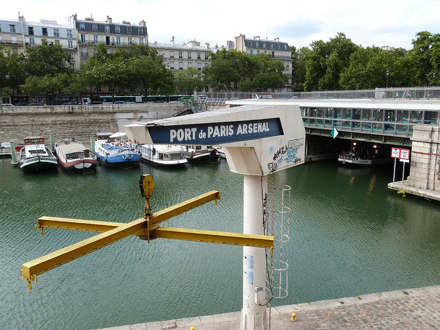 port de paris arsenal