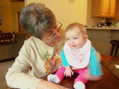 Evie and Grandma