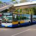 [Buses in Beijing]黄海 Huanghai DD6181S02 北京公交集团 BPT #44281 Line 347 Front-left at Xinjiekou Huokou