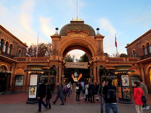 Tivoli Garden - Entrada Principal
