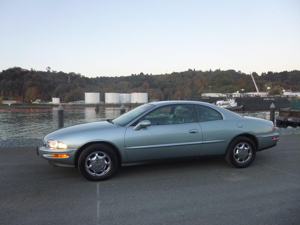 My new 1996 Riviera -- Light Jadestone Metallic, normally aspirated 10567922116_630035d614_b