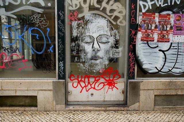 streetart | borondo | lisbon 2013