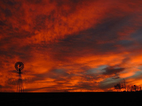 sunset sky rural colorful newengland sunsets farmland nightsky ruralamerica jawdropping sunsetshot flickr12days