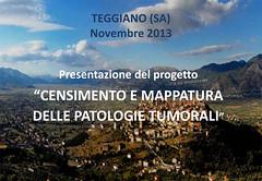 Teggiano: Presentati i dati del censimento e della mappatura sulle patologie tumorali