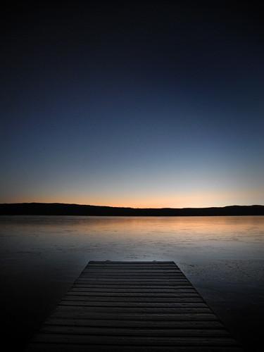 cold ice sunrise sweden dalarna reflecions enviken