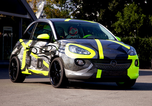 Opel ADAM & Vale for Charity
