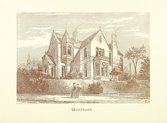 """British Library digitised image from page 58 of """"A Series of picturesque views of castles and country houses in Yorkshire, principally in the northern division of the West Riding, from sketches made by Mr. E. Healey ... Reprinted from the 'Bradford Illust"""